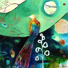 """Abundance 3″  by Flora Bowley, 2009"
