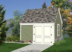 Free Shed Plans - 10'x12' Storage Shed with Loft