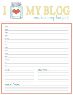 when your blog is your business, or something really important to you, it's a good idea to have a blog plan. i have so many notebooks filled with dates, post ideas, and reminders. i finally got tired of flipping through pages of my notebooks trying to remember where i jotted down this week's blog plan. so i started to search for blog plan printables. everything i found, though was only a week's worth of blog post plans. i usually schedule out my blog two weeks in advance, and sometimes…