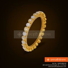 #Amazing #Diamond studded pair of #Bangle, simply #Adoreable