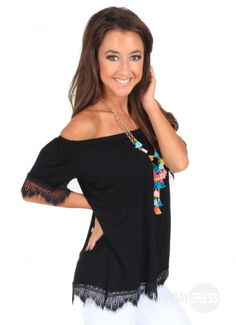 Love In The Dark Top | Monday Dress Boutique