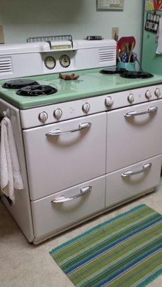 1950's gas stove