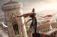 Assassin's Creed 2 concept art in Florence, Italy