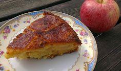 Baking for Beginners: Apple, Honey And Polenta Cake