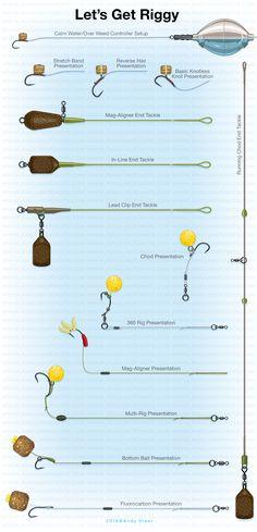 Carp Short Session Success by Julian Cundiff - Rig illustrations artwork #fishingtips