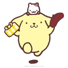 pompompurin. Luv him O3O might not be anime but this is the best board for him :3