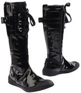 varnished boots-pataugas boots