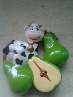 Cows, Farmhouse Decor, Christmas Ornaments, Holiday Decor, Crochet, Home Decor, Cold, Amor, Beading