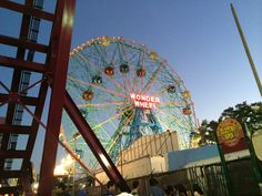 Coney island, NYC Coney Island, Ferris Wheel, Fair Grounds, Nyc, Architecture, Arquitetura, Architecture Design, New York