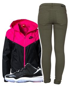 """""""Untitled #123"""" by mindset-on-mindless ❤ liked on Polyvore featuring beauty, NIKE and Dr. Denim"""