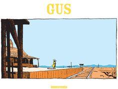 """©Christophe Blain """"Gus"""""""