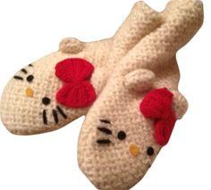 Hello Kitty Dishcloth Knitting Pattern : 1000+ images about Hello Kitty on Pinterest Hello Kitty Crochet, Hello Kitt...