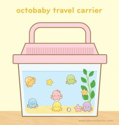 Adorable octobaby travel carrier