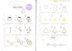 Easy & Kawaii Illustration Book 2 Japanese by JapanLovelyCrafts