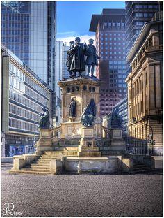 Frankfurt - Germany, Goethe Square