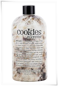 Collection Philosophy Cookies n Creme Duschg . - # Collection d& Philosophie Cookies n Cream Gel douche 33 Co - Beauty Care, Beauty Skin, Health And Beauty, Beauty Hacks, Beauty Tips, Diy Beauty, Beauty Women, Candy Corn, Philosophy Products