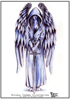 Angel Tattoos, Designs And Ideas : Page 8