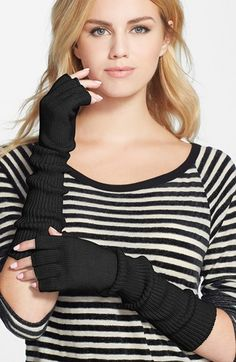 Phase 3 Fingerless Gloves available at #Nordstrom