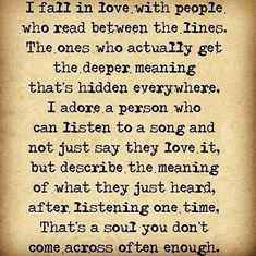 "☺ yes!  #awakespiritual & #infj - ""I fall in love with people who read between the lines..."""