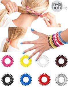 Super gumki, które nie niszczą włosów! W ekstra cenach na: http://www.iperfumy.pl/invisibobble/