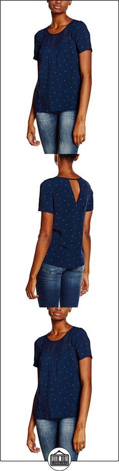 2TWO Latol, Camisa Para Mujer, Azul (Navy), M  ✿ Blusas y camisas ✿