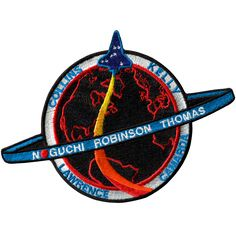 Discovery's seven-member Return to Flight crew will fly to the International Space Station primarily to test and evaluate new safety procedures. There have been many safety improvements to the Shuttle Space Patch, Nasa Patch, Nasa Missions, Space Projects, Sunflower Wallpaper, Space And Astronomy, Space Program, Space Shuttle, Space Travel