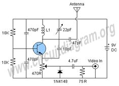 Simple inverter circuit diagram using transistor d882 in