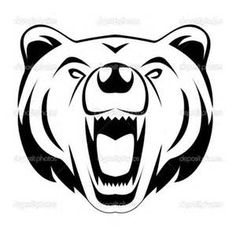 Fierce Bear Face Grapgic - - Yahoo Image Search Results