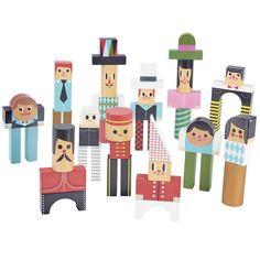 Vilac houten blokken