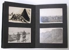 Lot 191 – WW1 Western Front & Middle East photograph album pair. The photographs are of small box type but show good detail of trench life on the Western Front in 1915 and then later in the middle east. Bombed buildings and destruction also shown. Good quality images. Housed in two small green leather covered albums. 98 images in the two albums – Military & Collectables 30 Apr 2014 http://www.candtauctions.co.uk/