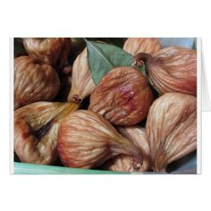 Closeup of dried figs with leaves Card - holiday card diy personalize design template cyo cards idea Thanksgiving Greeting Cards, Holiday Cards, Happy Thanksgiving, Holiday Decor, Fall Fruits, Leaf Cards, Dried Figs, Family Holiday, Leaves