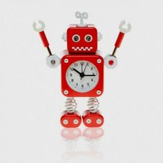 "OROLOGIO SVEGLIA ""ROBOT"""