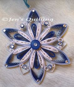** Quilling - ornament **: