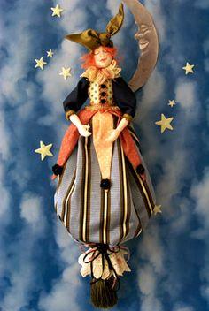 Art Doll Emily by Barbara Willis