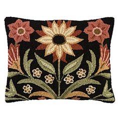 Wool Pillow   Inspired By The Beauty OF Pennsylvania Dutch Folk Art