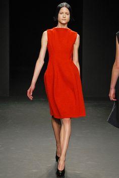 Calvin Klein Collection Fall 2012 Ready-to-Wear Fashion Show - Kate Kondas