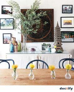 POPSUGAR Australia Home helps turn novice nesters into design experts with quick and easy decorating ideas, trends, and DIY projects! Fairy Garden Supplies, Interior Decorating, Decorating Ideas, Diy Projects, House Design, Pure Products, Table Decorations, House Styles, Modern