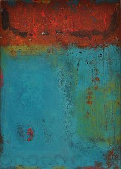abstrakte Acrylmalerei, Unikat, Original,70x50 cm von Kunst & Design Werkstatt auf DaWanda.com