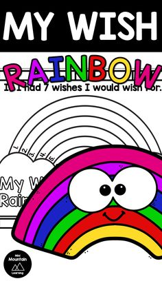 Patrick's Day writing activity for elementary. Making wishes on St. Writing Activities, Learning Resources, Classroom Activities, Activities For Kids, One Wish, St Patricks Day, Prompts, Coloring Pages, Have Fun