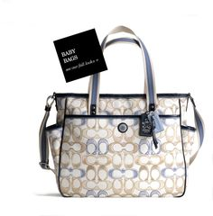 Coach Diaper Bag :)
