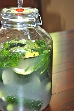 Natural Health and Prevention: Cultured Mondays - Cucumber Pickles with Garlic