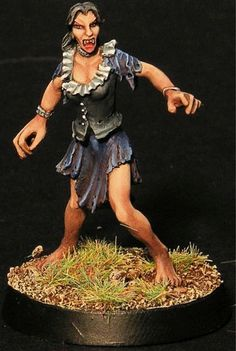 - 32mm from Head to Toe- Miniature supplied unpainted- Comes with a 25mm base