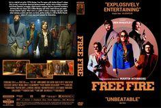 Free Fire (2016) DVD Custom Cover