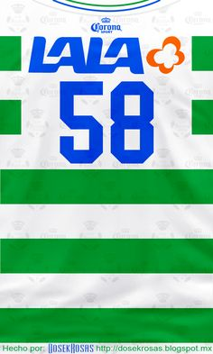 Santos Laguna 1996, 58 - Jared Borgetti #Retro #Jersey #Futbol