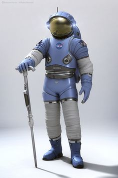NASA's Next Spacesuit - kollected                                                                                                                                                                                 More