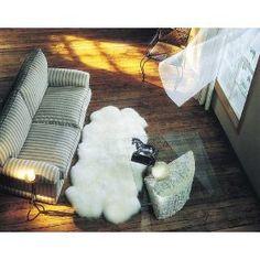 Bowron Longwool Sheepskin Rug - Quatro - Black $291.91