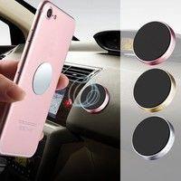 2 Pack Universal Wall Desk Metal Magnet Sticker Mobile Stand Phone Holder Car Mount Support Humor Magnetic Car Phone Holder