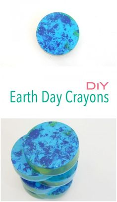Make your Own Earth Day Crayons - so easy to make and WOW, they are beautiful!