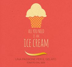 all you need is an ice cream
