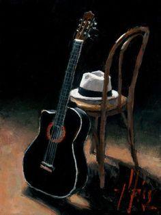 Ритмы Фламенко, гитара и стук кастаньет.. | Fabian Perez